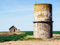 Different Structures (John Westrock) Tags: house abandoned rural washington farm pacificnorthwest olympusomdem5 olympusmzuikoed45mmf18