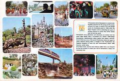 Vacationland Fall 1965 14-15 - Disneyland Tencennial (Tom Simpson) Tags: vintage disneyland dumbo disney 1960s monorail vacationland 1965 dumbotheflyingelephant vintagedisneyland tencennial vintagedisney minetrainthroughnatureswonderland