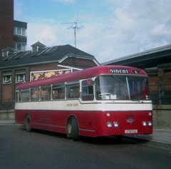 0829 19790810 Chiltern Queens, Woodcote 478 FCG (CWG43) Tags: uk bus parkroyal reliance aec aldershotdistrict aldervalley chilternqueens 4mu3ra 478fcg thamesvalleyaldershot