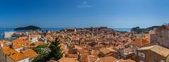 Dubrovnik Old City Panorama