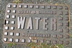 Ivybridge Guest and Chrimes Water (Bridgemarker Tim) Tags: water covers drains rotherham ivybridge