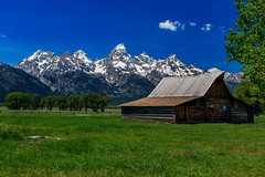 Yeah That Barn (Jason Benton) Tags: barn wyoming grandteton jacksonhole mormonrow