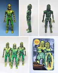 Robo Creech! (skipthefrogman) Tags: art toy action cast figure custom bootleg skipbro