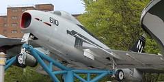 Navy FJ-4B Fury Jet (jmaxtours) Tags: nj 610 newyorkbuffalo navyfj4bfuryjetnavyfj4bfuryjetbuffalobuffalo nybuffalonavalparknavalparknewyorkeriecanal
