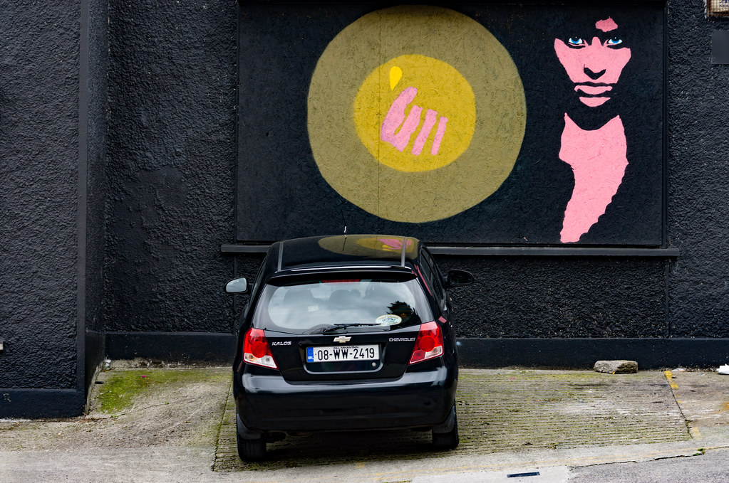 ABOUT A GIRL BY KEMP [WATERFORD WALLS PROJECT AT NEWGATE STREET]-116352