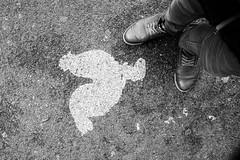 Rooster (lorenzoviolone) Tags: england blackandwhite bw london monochrome myself blackwhite shoes unitedkingdom perspective streetphotography ground finepix boroughmarket fujifilm streetphoto rooster fav10 agfascala200 mirrorless vsco streetphotobw vscofilm fujix100s x100s fujifilmx100s travel:uk=londonapr16