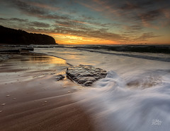Turi velvet (Mike Hankey.) Tags: colour sunrise focus published lowtide turimetta
