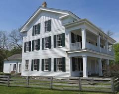 Wade House (Greenbush, Wisconsin) (courthouselover) Tags: wisconsin wi wadehouse sheboygancounty greenbush oldwadehousestatepark stateparks northamerica unitedstates us