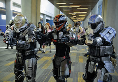 Fanime 2016: Halo Spartans (westcowing10) Tags: cosplay fanime spartan cosplayphotography haloreach halospartans halocosplay spartancosplay halogames haloreachcosplay fanime2016
