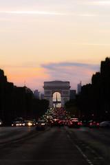 Paris (BebePixel) Tags: paris arcdetriomphe coucherdesoleil sunset