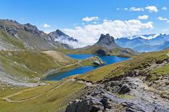 Roburent lake (2430m) (RodaLarga) Tags: lake mountains landscape lumix ubaye lx5 roburent