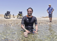 2403 Chris Middleton (KnyazevDA) Tags: sea underwater wheelchair scuba diving disabled diver padi undersea handicapped amputee disability