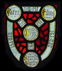 Holy Trinity shield (Simon_K) Tags: cambridge church university churches colleges stmichael cambridgeshire eastanglia cambs michaelhouse churchess
