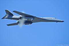 Making Vapor (Fly Sandman) Tags: airshow stealth bone rockwell bomber usaf lancer vapor b1b vaporcone shockcollar mcconnellafb shockegg mcconnellafbopenhouse