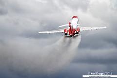 G-OSRA - Boeing 727-2S2F(RE) - 2Excel Aviation / Oil Spill Response (KarlADrage) Tags: fab waterdrop fia osr boeing727 727200 2excelaviation farnboroughinternationalairshow 7272s2f oilspillresponse dangriffith gosra