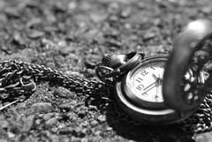 Day 10/30 : 'New' (georgina cantwell photography) Tags: bw monochrome photography time challenge pocketwatch