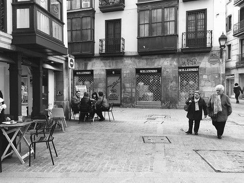 Walking and Talking in Bilbao