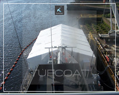 OPV Scarborough encapsulation - Tufcoat Shrink Wrap