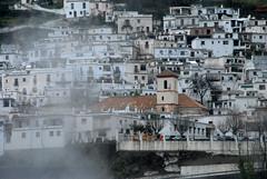 Pampaneira (annamaart) Tags: rain fog clouds spain andalucia sierranevada regn alpujarras dimma moln poqueira busvder pampaaneira