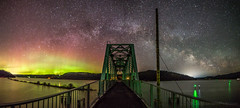 Bifrost Bridge (CraigGoodwin2) Tags: bridge stars north idaho galaxy pacificnorthwest northernlights auroraborealis milkyway trailofthecoeurdalenes heyburnstatepark