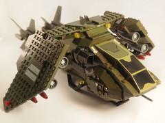 P1011431 (michaelkalkwarf) Tags: michael lego space halo pelican marines spaceship mega gunship moc dropship bloks kalkwarf