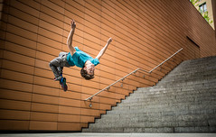 Flip (MichaelBmxking) Tags: park city light boy urban house 3 man berlin green sports up wall stairs photoshop 35mm canon germany eos town upsidedown 5 f14 iii side bricks sigma down filter flip adobe 5d salto mk available gymnastic acrobatic lightroom marl parcour parcours salti vsco 5dmark 5dmk 5dmkiii 5dmk3 5dmarkiii 5dmark3 vscofilter