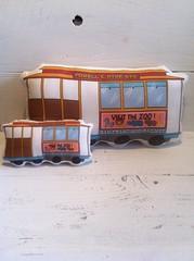 Cable Car Pillow Plush Toys
