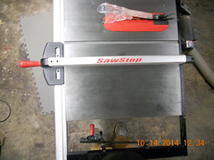 Hank Kennedy table saw project - diy guide rails 16