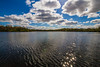 Clouds (Glenn Cartmill) Tags: uk blue ireland sky sun water clouds canon reflections eos lough unitedkingdom glenn northernireland gall loughgall countyarmagh cartmill 650d