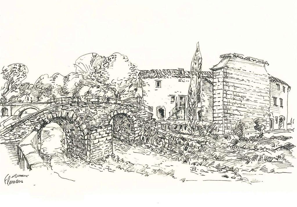 Pont VIeux et Moulin