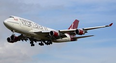 Virgin Atlantic Airways Boeing 747-41R G-VROC Approach (Mark 1991) Tags: london heathrow virgin boeing 747 lhr virginatlantic heathrowairport 747400 londonheathrow gvroc