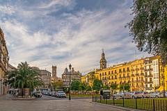 Plaza De La Reina - Valencia (Canon PowerShot G7X Compact) (markdbaynham) Tags: street city urban valencia canon spain powershot espana spanish espanol metropolis es compact ciutat g7x