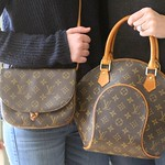 """Vintage"" Louis Vuitton Mother-Daughter Handbag Set <a style=""margin-left:10px; font-size:0.8em;"" href=""http://www.flickr.com/photos/131977751@N08/17117434779/"" target=""_blank"">@flickr</a>"