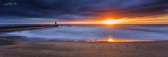 Foz do Douro (paulosilva3) Tags: blue sunset seascape canon eos long do little lee douro filters foz stopper expos 6d