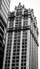 Liberty Tower (LJS74) Tags: nyc newyorkcity blackandwhite bw monochrome manhattan terracotta financialdistrict lowermanhattan downtownmanhattan libertytower architecturalterracotta sinclairoilbuilding