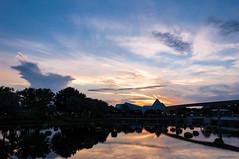 Walt Disney World 2015-111 (King_of_Games) Tags: sunset night orlando epcot florida disney disneyworld fl waltdisneyworld themepark waltdisney partlycloudy projectweather