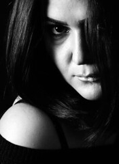 BW (R Y A N Photography) Tags: light portrait people blackandwhite bw black sexy girl monochrome fashion model modeling background autofocus