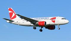 CSA Czech Airlines Airbus A319 (AMSfreak17) Tags: amsterdam airport czech landing airbus airlines 06 schiphol ams csa eham a319 36r kaagbaan aalsmeerbaan okneo amsfreak17