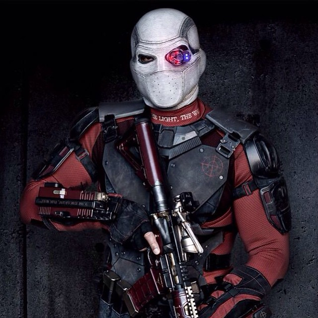 Will Smith is Deadshot in SUICIDE SQUAD #suicidesquad #taskforcex