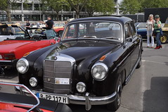 Mercedes-Benz 220a W180 (1954-1959) (Transaxle (alias Toprope)) Tags: auto berlin classic cars 1955 beauty car sedan vintage nikon power 1954 voiture db historic retro german coche soul mercedesbenz carros classics 1958 1957 carro oldtimer 1956 autos veteran saloon macchina mb classiccars coches veterans germanengineering vintagecars 1959 voitures toprope 220 meilenwerk macchine straightsix d90 4door 220a motorklassik oldtimertage w180 sixcylinders classicremise