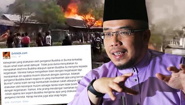 Mufti gesa tokoh Buddha Malaysia bantah keganasan ke atas ROHINGYA - Read more