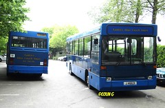 Tantivy 203 (Coco the Jerzee Busman) Tags: uk blue bus islands coach camo renault cannon jersey swift dennis tours dart channel leyland lcb plaxton tantivy