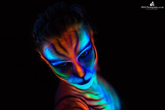 UV Paint (PRM-Photography) Tags: light canon model paint uv lowkey uvpaint