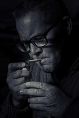 I smoke alone (cbyc) Tags: nostrobistinfo removedfromstrobistpool seerule2