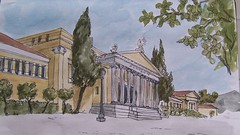 Athen, Zappeion (Roderich Rabenfels) Tags: sketch athens athen zappeion zappion