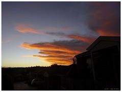 Autumn Sunset Clouds - I (fotograf1v2) Tags: autumn sunset weather clouds skyscape silhouettes australia victoria pakenham luminosity