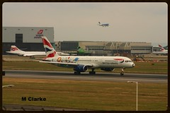 G-CPEM (Vinyl 1979) Tags: london airport concorde ba boeing britishairways lhr londonheathrow gcpem boeing757236
