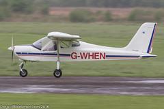 G-WHEN - 2004 build Tecnam P92-EM Echo, inbound on Runway 26L at Barton (egcc) Tags: manchester echo walker barton marsh p92 microlight jabiru cityairport tecnam 2200a egcb gwhen p92em pfa31813679