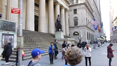 New York, NY Wall Street (army.arch) Tags: nyc newyorkcity ny newyork downtown wallstreet federalhall