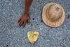 Roadworks - Hsipaw, Myanmar (Maciej Dakowicz) Tags: road street city hat work asia hand burma myanmar tamrac hsipaw